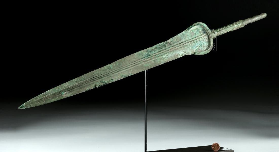 """Published Luristan Bronze Sword - 25""""L - 2"""