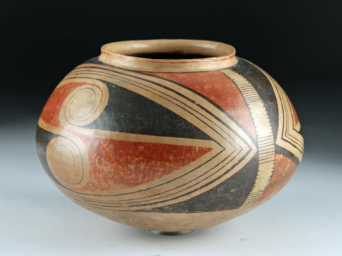 Casas Grandes Polychrome Pottery Vessel