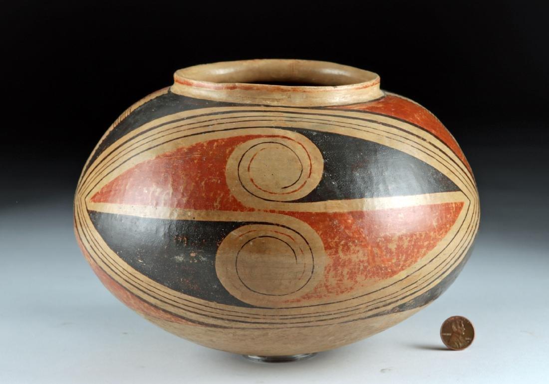 Casas Grandes Polychrome Pottery Vessel - 2
