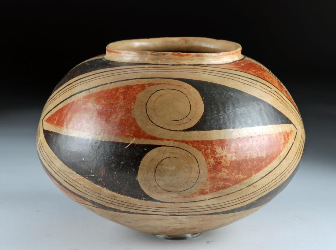 Casas Grandes Polychrome Pottery Vessel - 4
