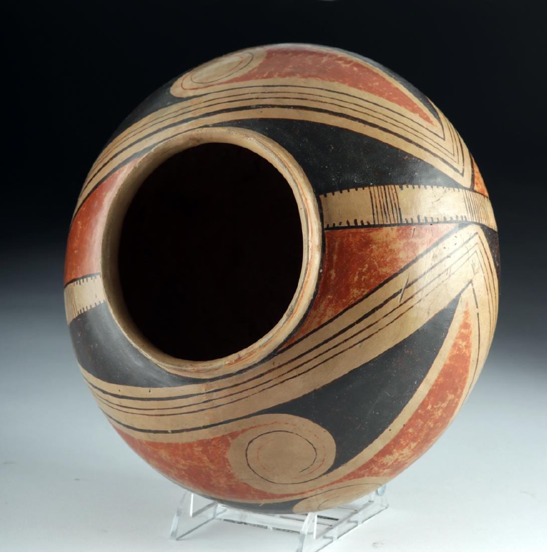 Casas Grandes Polychrome Pottery Vessel - 5