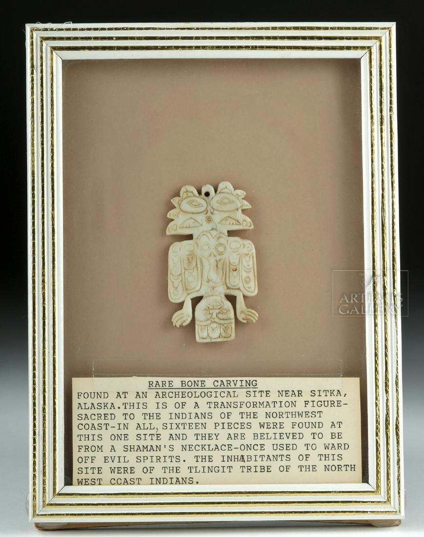 Early Pre-Historic Tlingit Pendant - Ex Joel Malter
