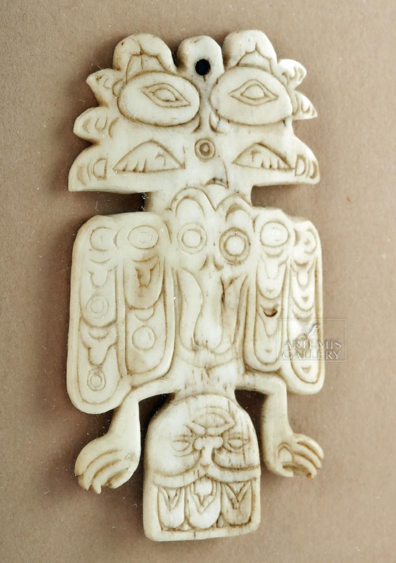 Early Pre-Historic Tlingit Pendant - Ex Joel Malter - 2