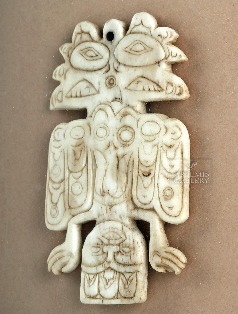 Early Pre-Historic Tlingit Pendant - Ex Joel Malter - 3