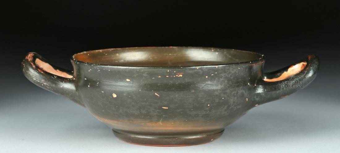Greek Campanian Pottery Kylix w/ Maker's Initials - 2