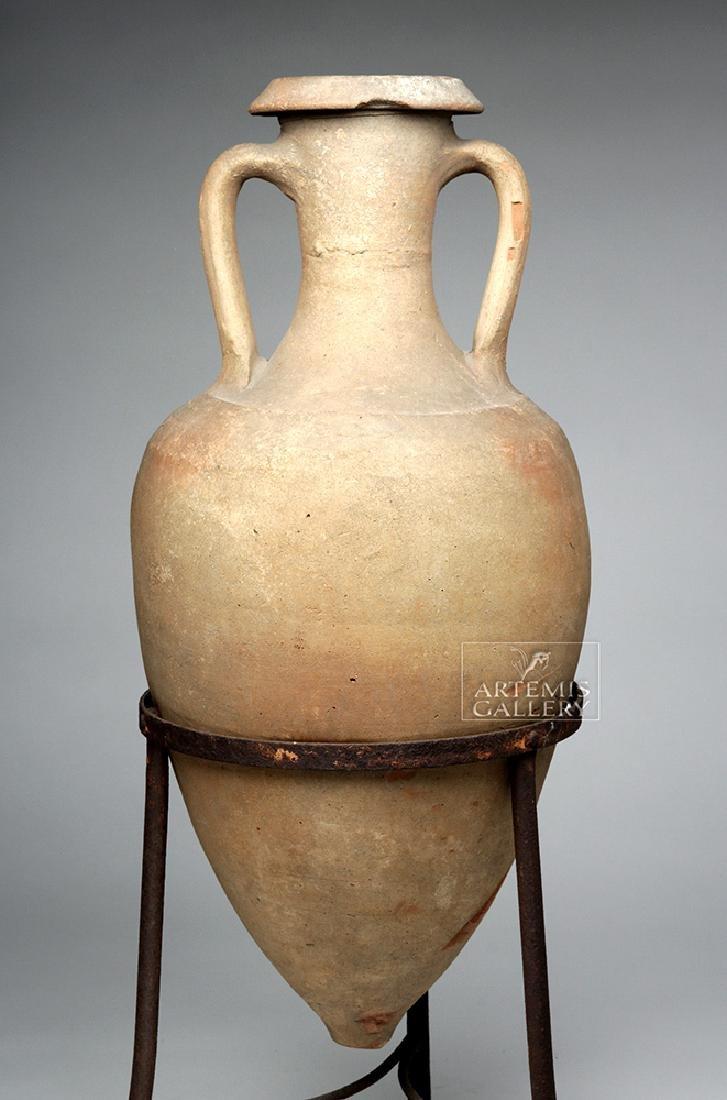 Roman Pottery Transport Amphora - Large & Complete