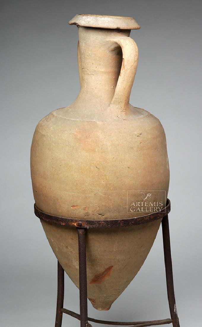 Roman Pottery Transport Amphora - Large & Complete - 2
