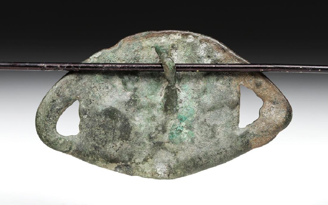 Finno-Ugric / Proto Viking White Bronze Fitting - 3