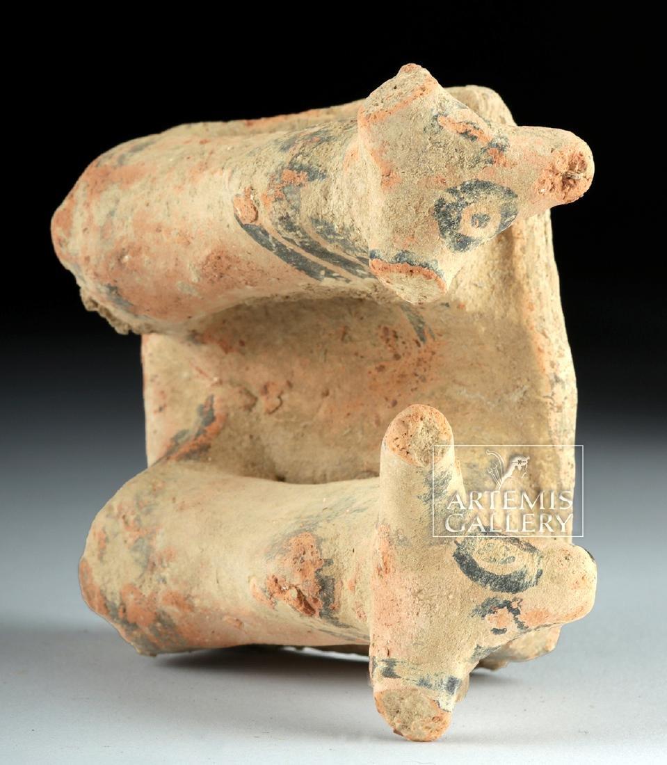 Indus Valley Pottery Platform with Zebu Bulls - 6