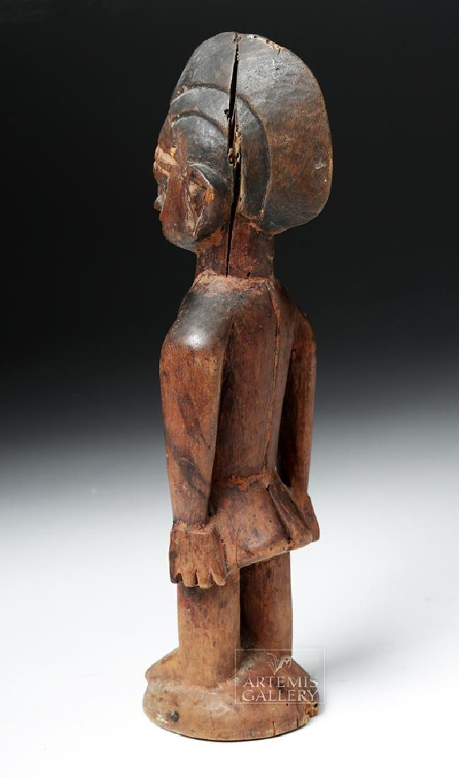 Early 20th C. Yoruban Ibeji Wooden Figure - 3
