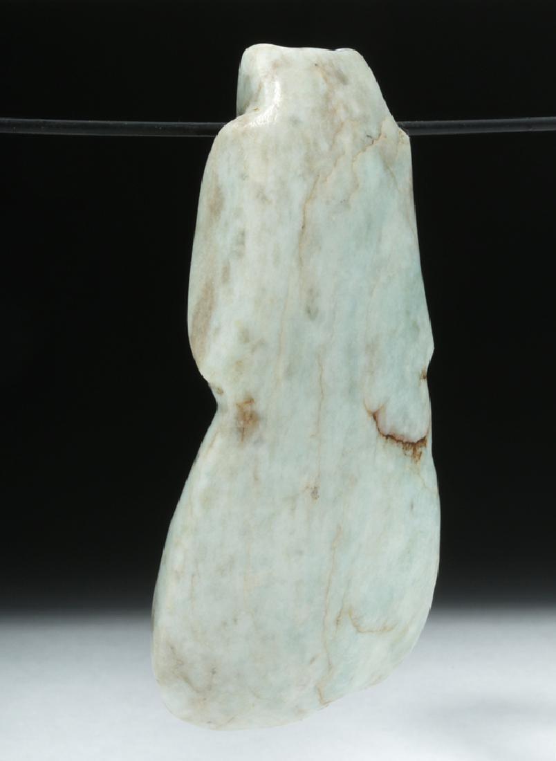 Costa Rican Jade Axe Celt - Avian Form - 3
