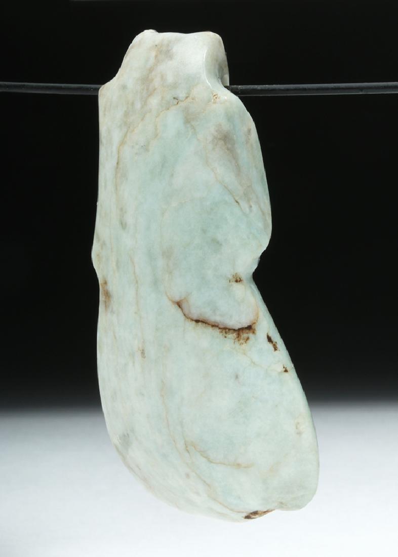 Costa Rican Jade Axe Celt - Avian Form - 4
