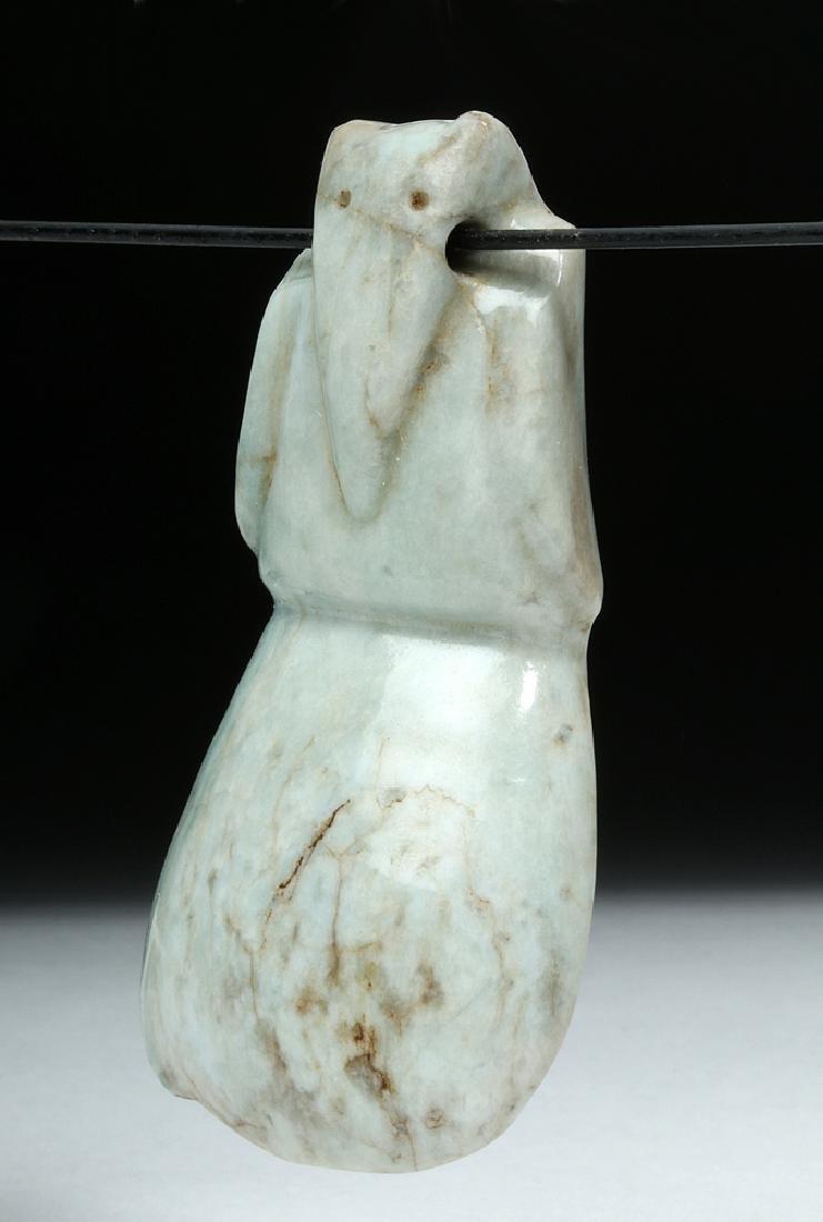 Costa Rican Jade Axe Celt - Avian Form - 5