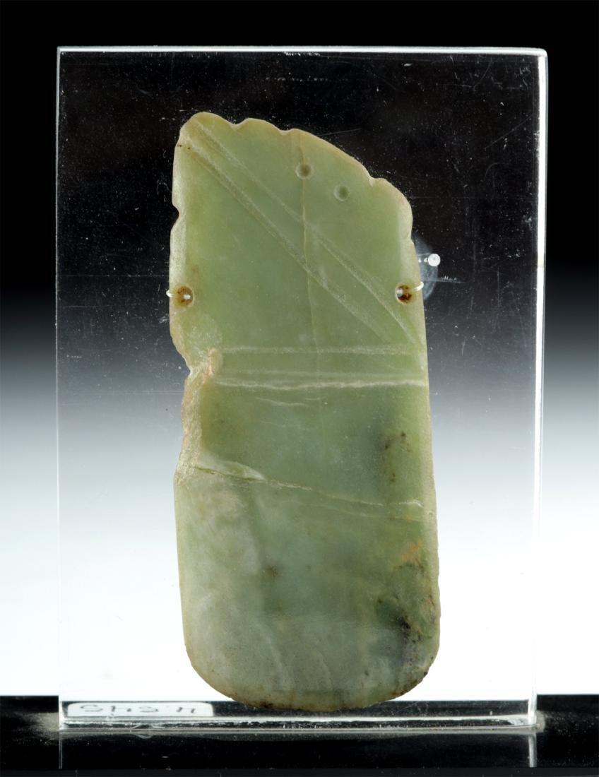 Costa Rican Jade Pendant