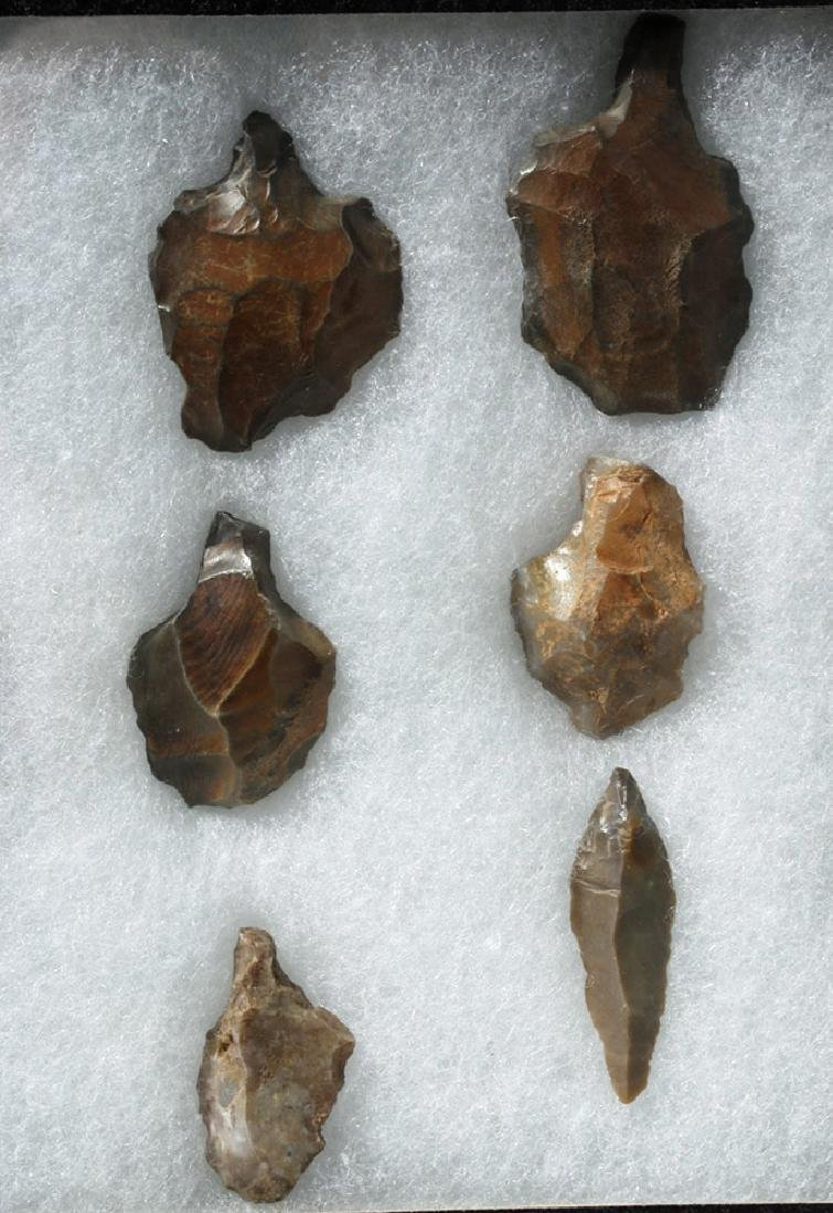 Collection of 15 North African Aterian Stone Tools - 3