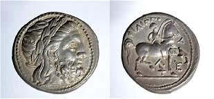Philip II AR Silver Tetradrachm - 14.1 grams