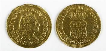 18th C. Spain Madrid Mint Gold Escudo - 3.2 g