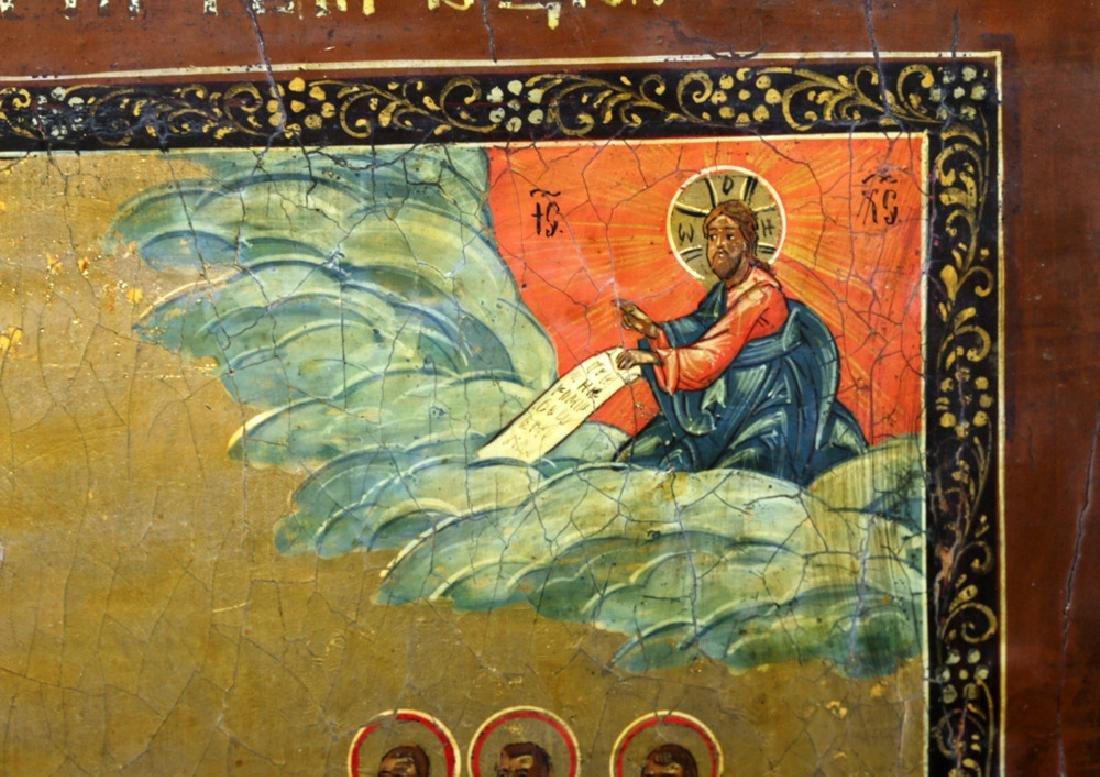 19th C. Russian Icon - Virgin of Intercession - 3