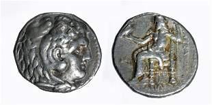 Alexander the Great AR Silver Tetradrachm - 17 g