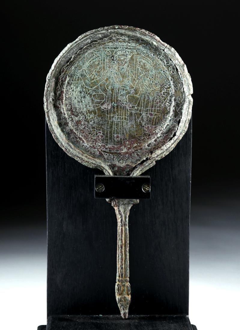 Etruscan Bronze Mirror - Judgment of Paris