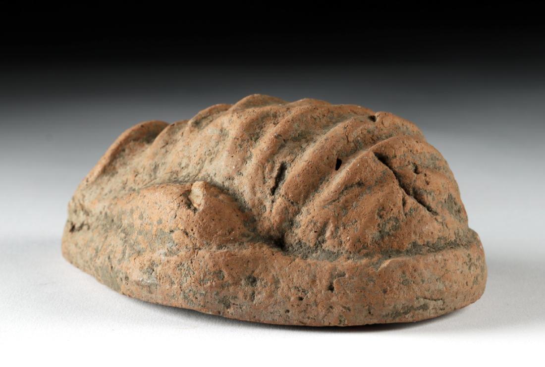 Etruscan Terracotta Votive Uterus - 4