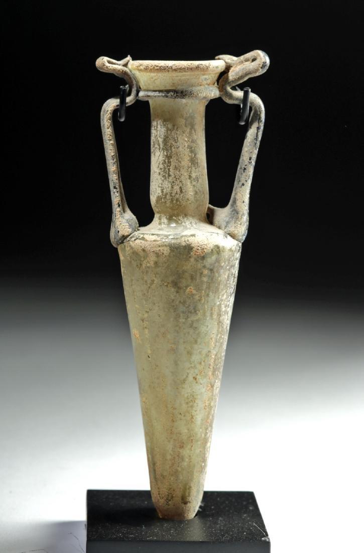 Stunning Roman Glass Amphoriskos