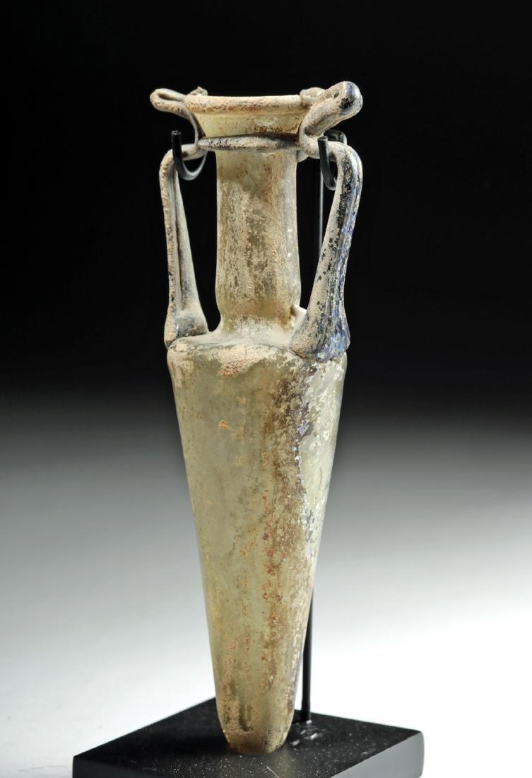 Stunning Roman Glass Amphoriskos - 3