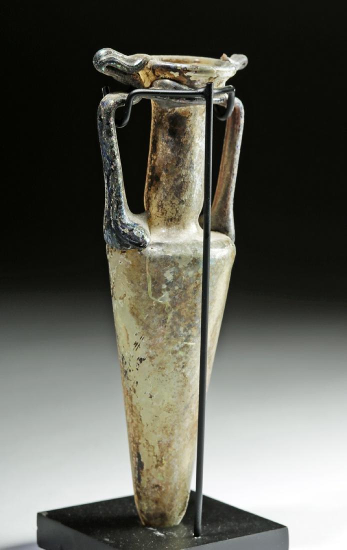 Stunning Roman Glass Amphoriskos - 4