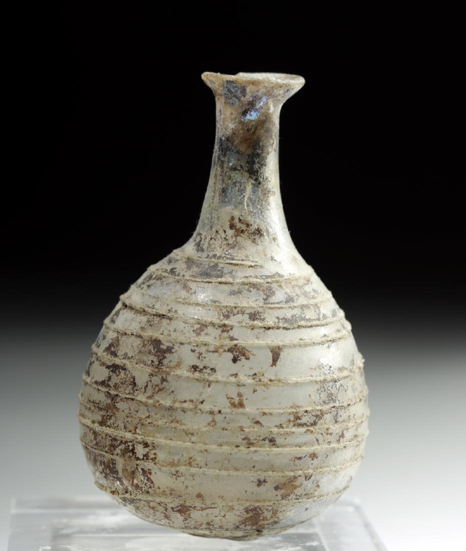 Roman Glass Jar w/ Threadlike Trailing