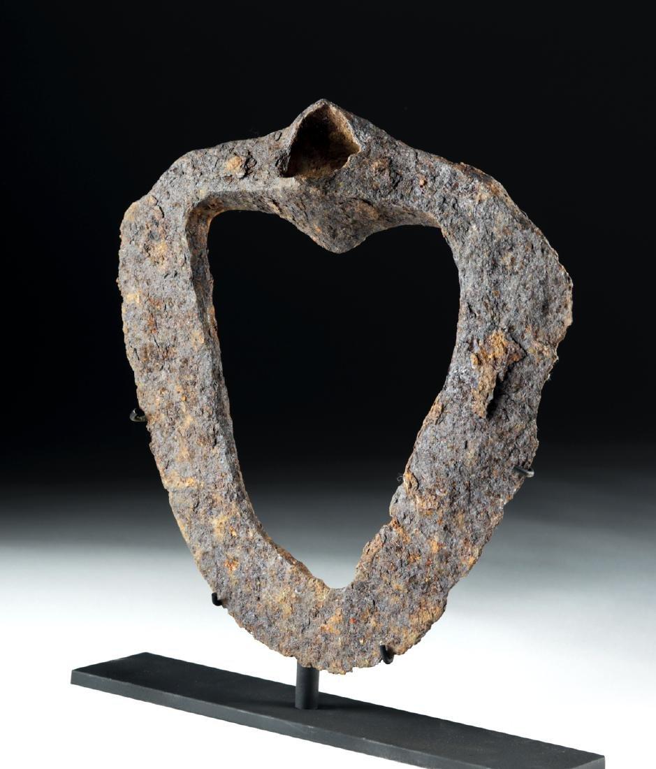 Rare Anglo-Saxon Iron Hoe