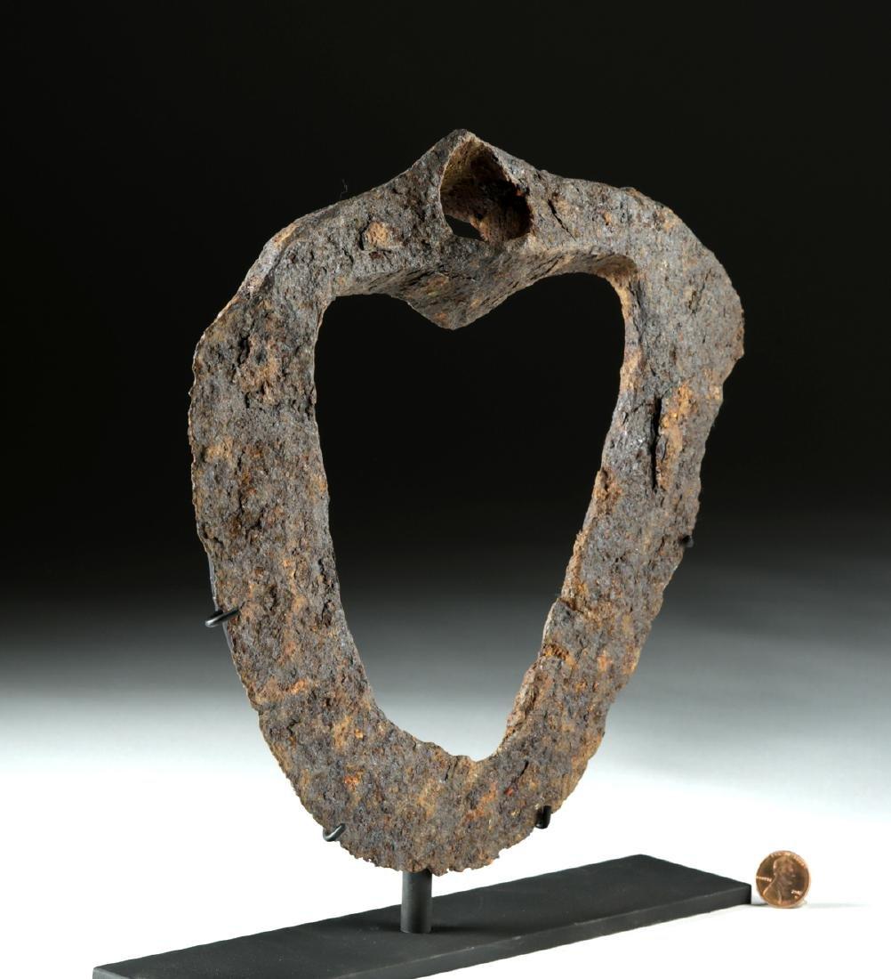 Rare Anglo-Saxon Iron Hoe - 3
