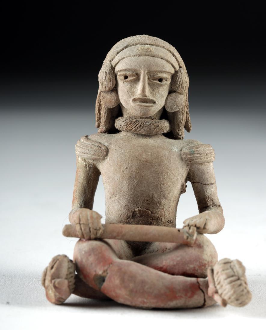 Fine Xochipala Pottery Seated Figure