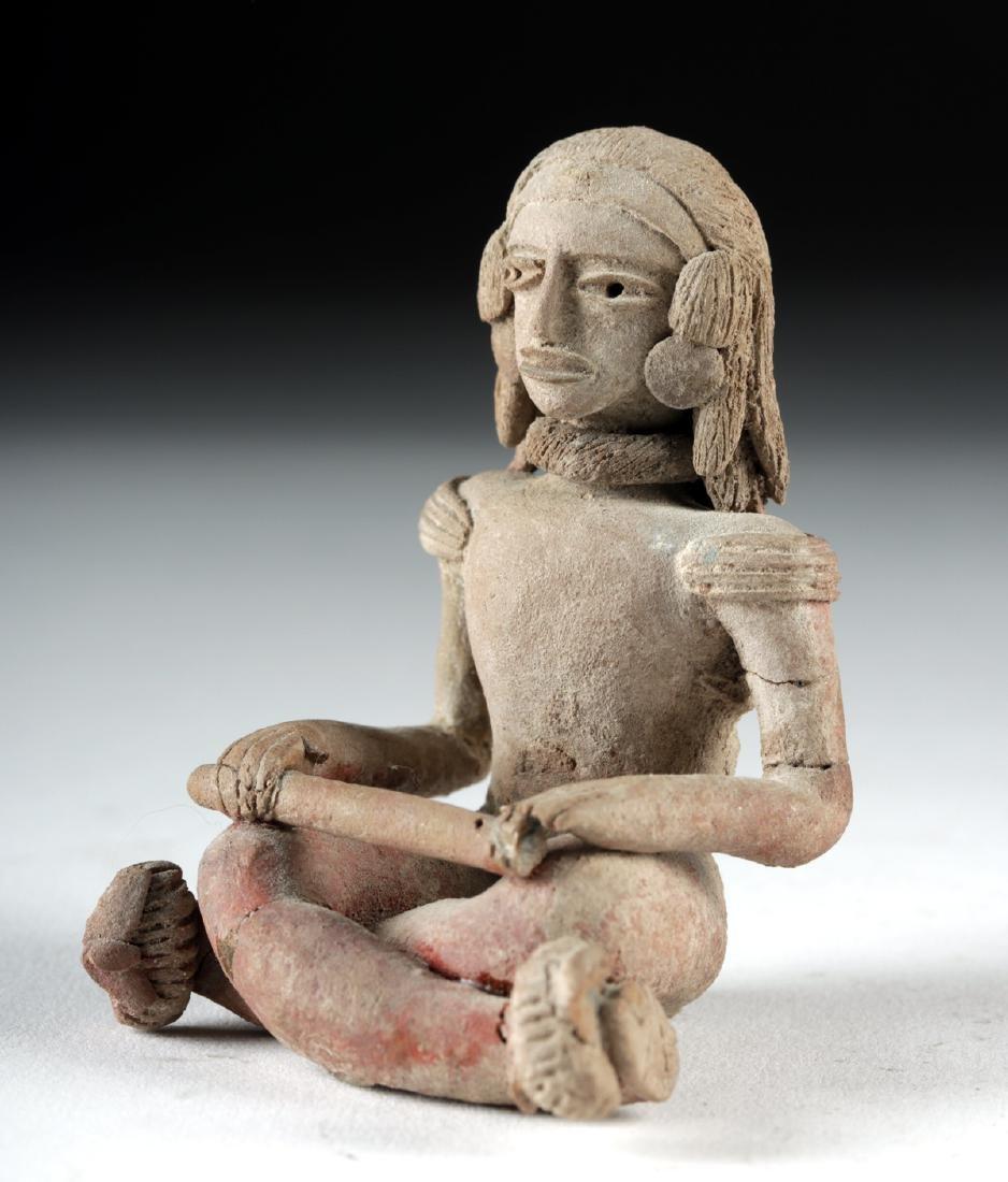 Fine Xochipala Pottery Seated Figure - 3