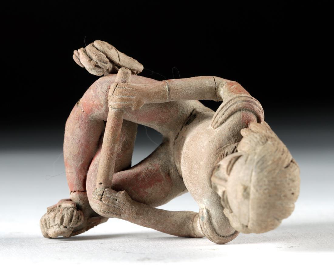Fine Xochipala Pottery Seated Figure - 5