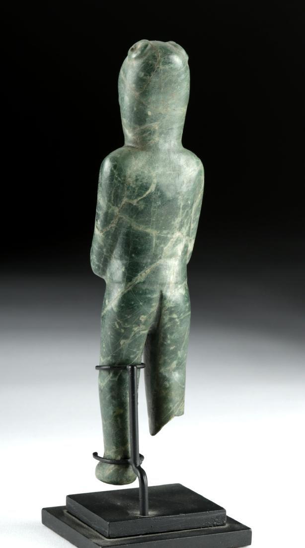 Important Olmec Greenstone Were-Jaguar - 4