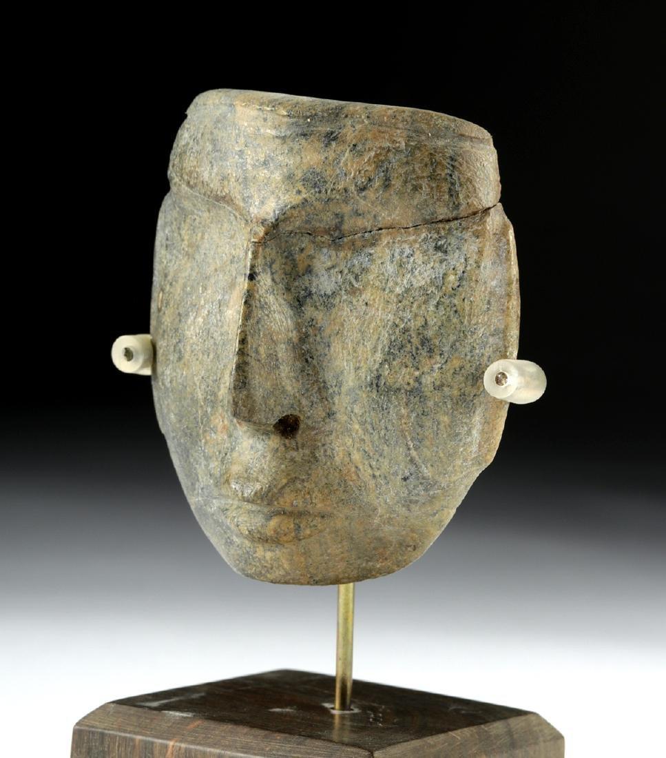 Guerrero Chontal Greenstone Maskette