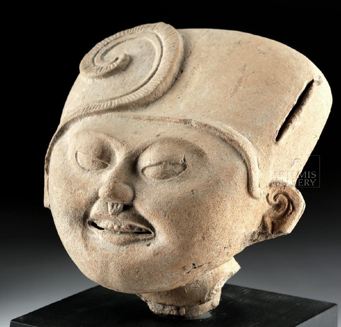 "Veracruz Pottery Head - Sonriente ""Smiling Face"""