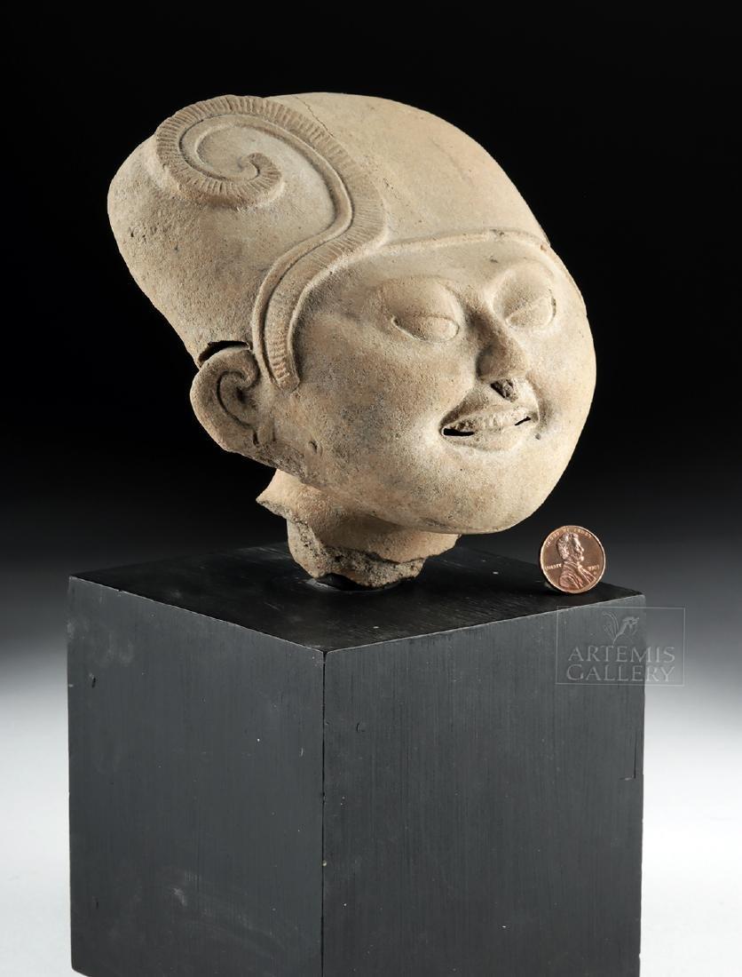 "Veracruz Pottery Head - Sonriente ""Smiling Face"" - 3"