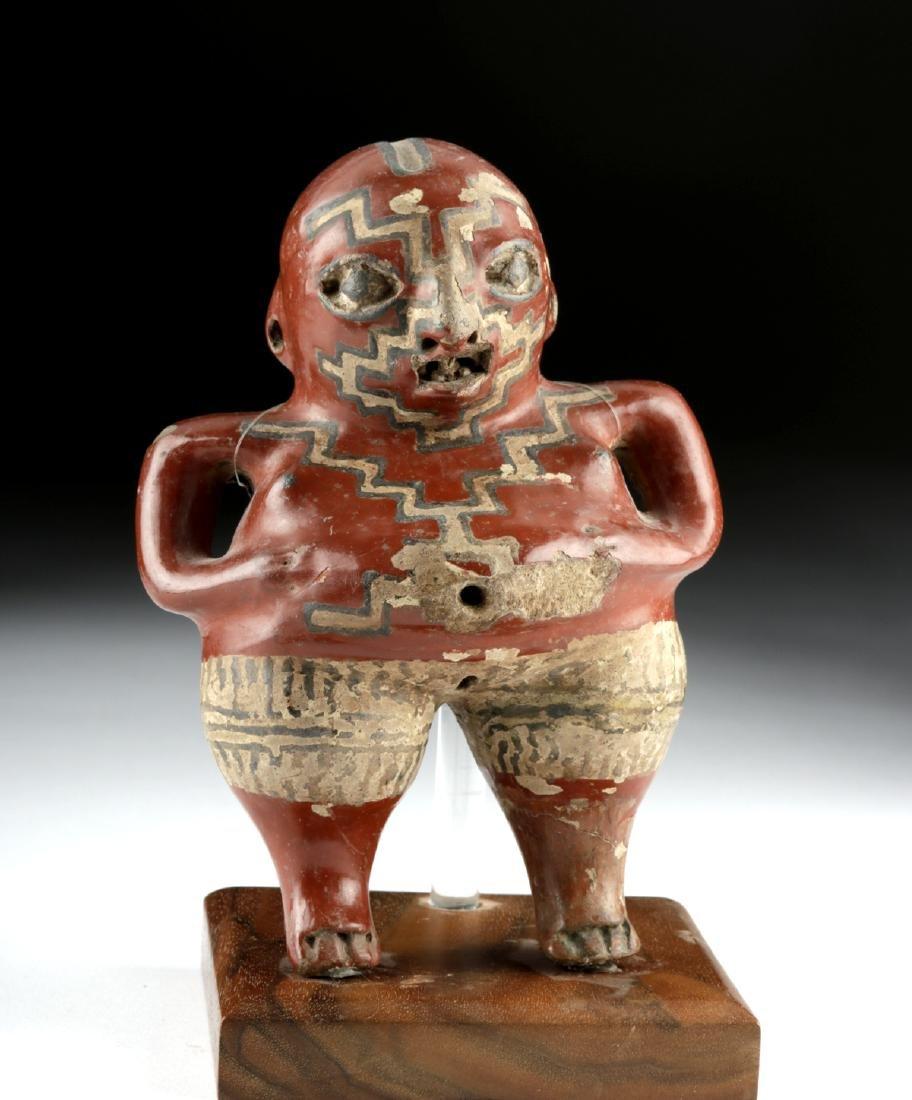 Chupicuaro Polychrome Standing Figure - Pregnant Woman
