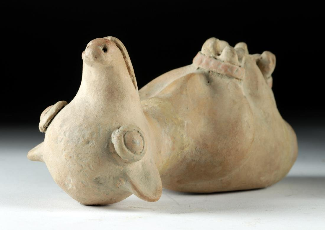 Recuay Pottery Whistle Vessel - Trussed Dog - 2