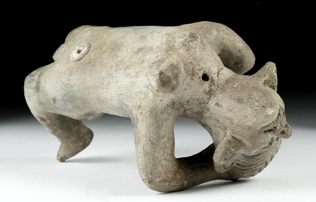 Rare Zapotec Pottery Prone Female - 6