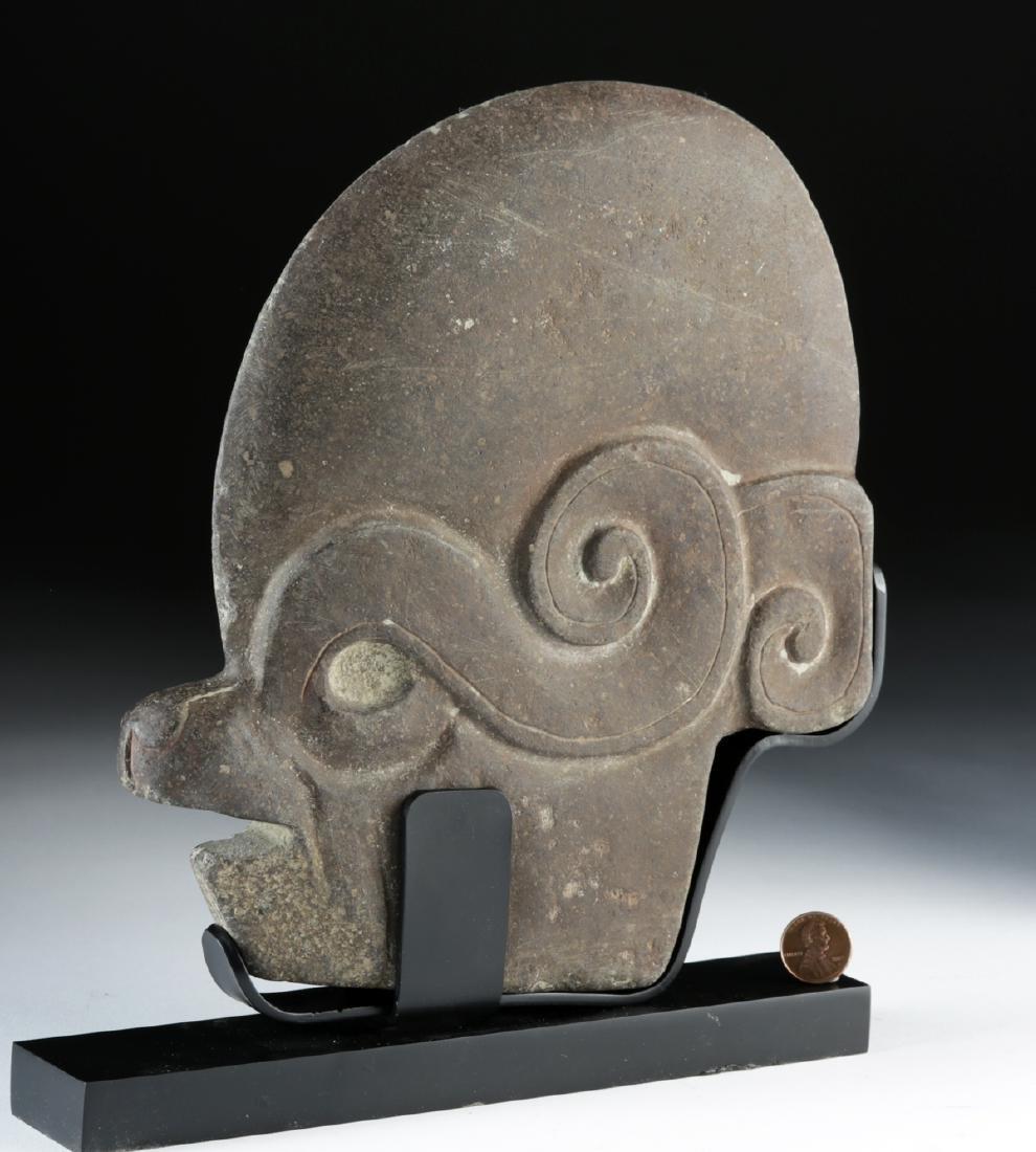 Maya Stone Hacha - Animal / Human Effigy