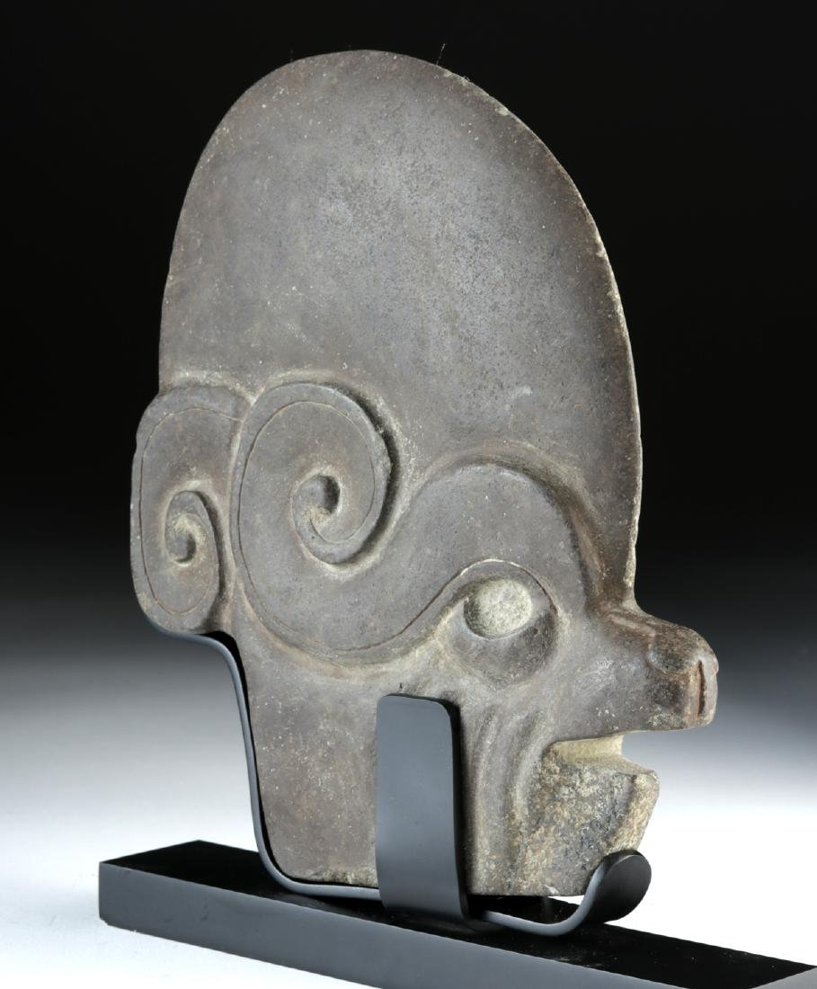 Maya Stone Hacha - Animal / Human Effigy - 3