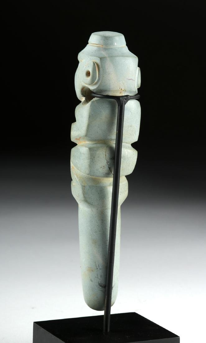 Superb Costa Rican Stone Figural Amulet - Monkey - 4