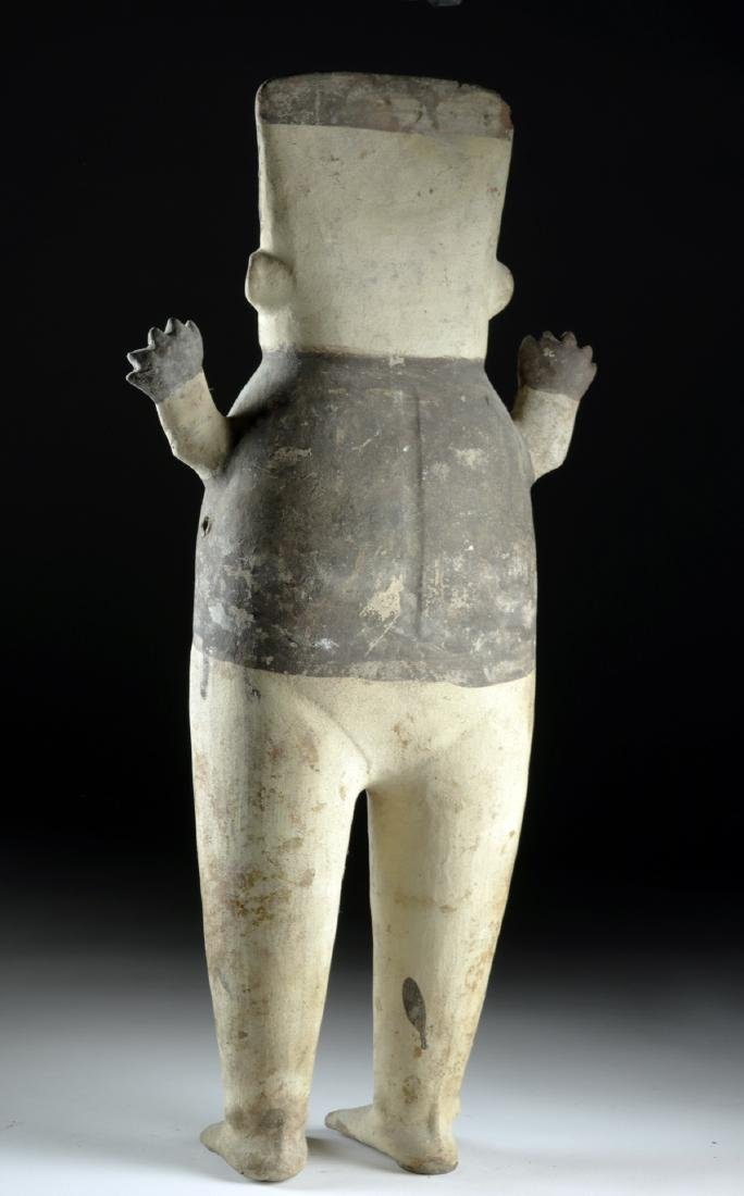 Tall Chancay Pottery Standing Cuchimilco - Female - 4