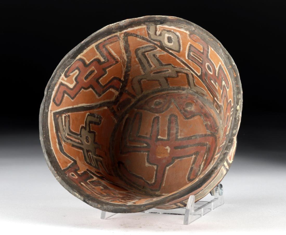 Bolivian Chiribaya / Tiahuanaco Polychrome Bowl