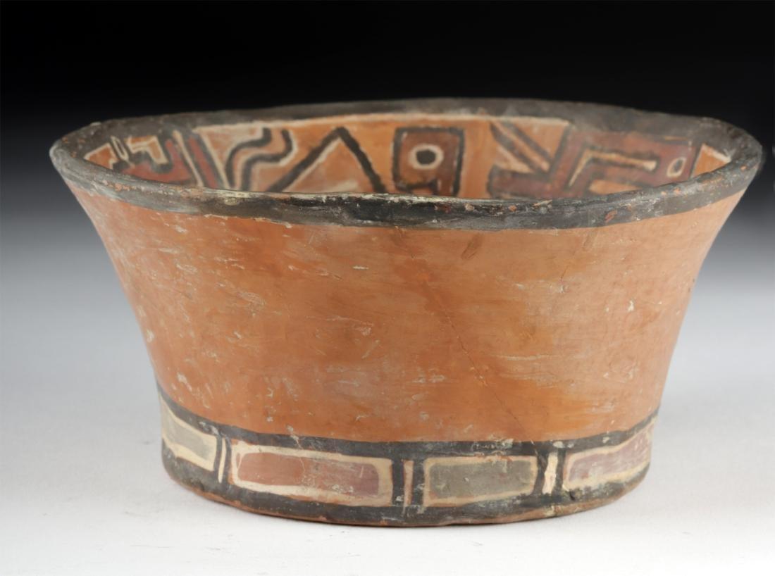 Bolivian Chiribaya / Tiahuanaco Polychrome Bowl - 2