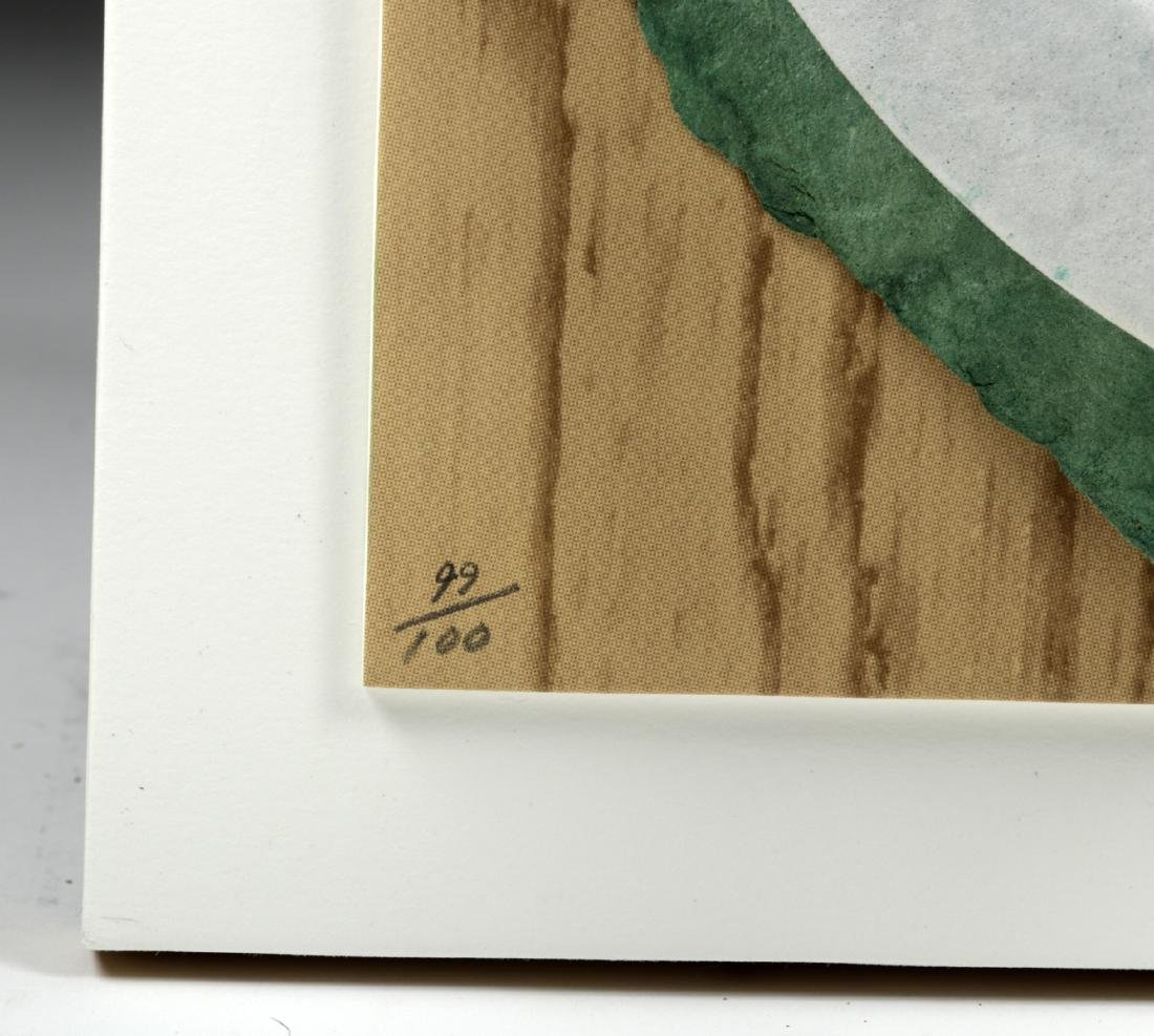 """Signed & Numbered Claes Oldenburg  """"Broken Button"""" 1981 - 3"""