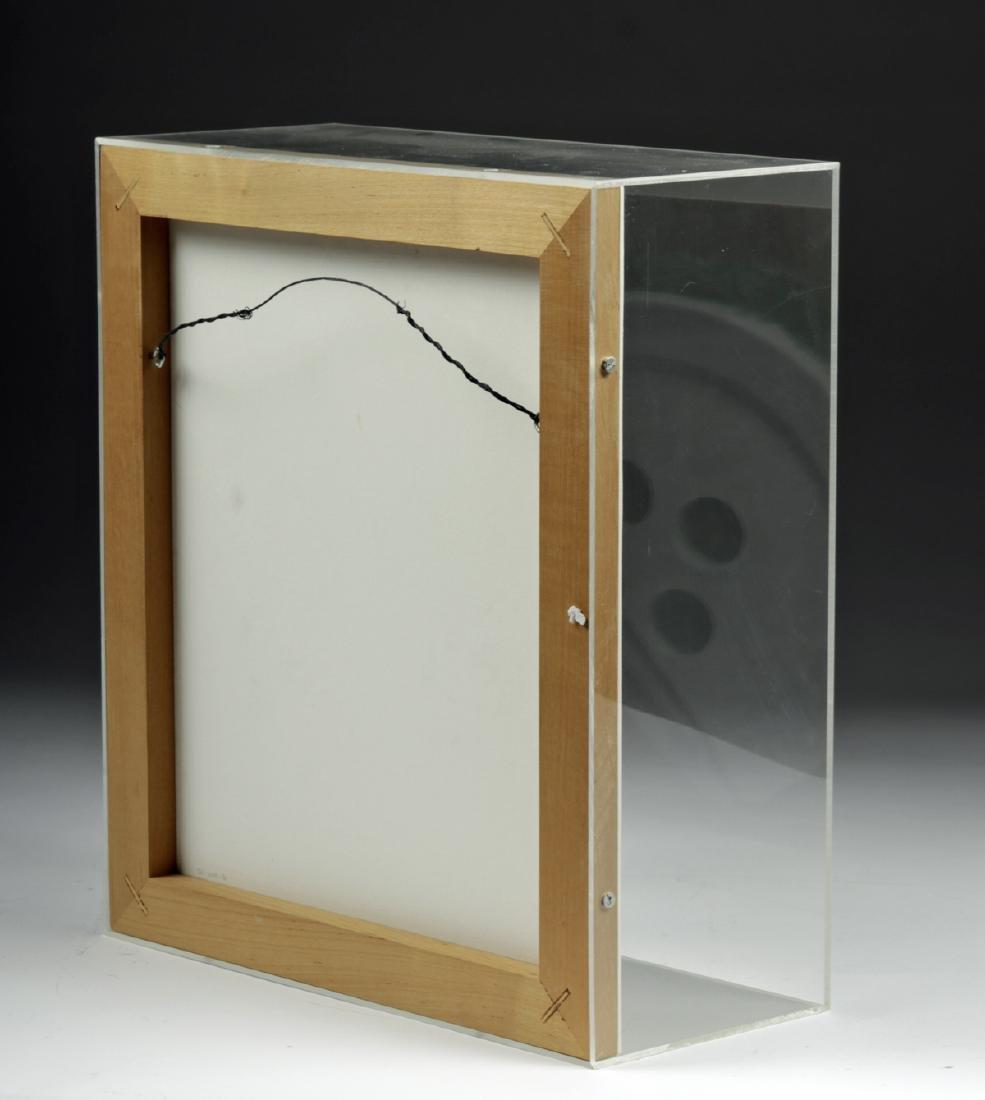 """Signed & Numbered Claes Oldenburg  """"Broken Button"""" 1981 - 7"""