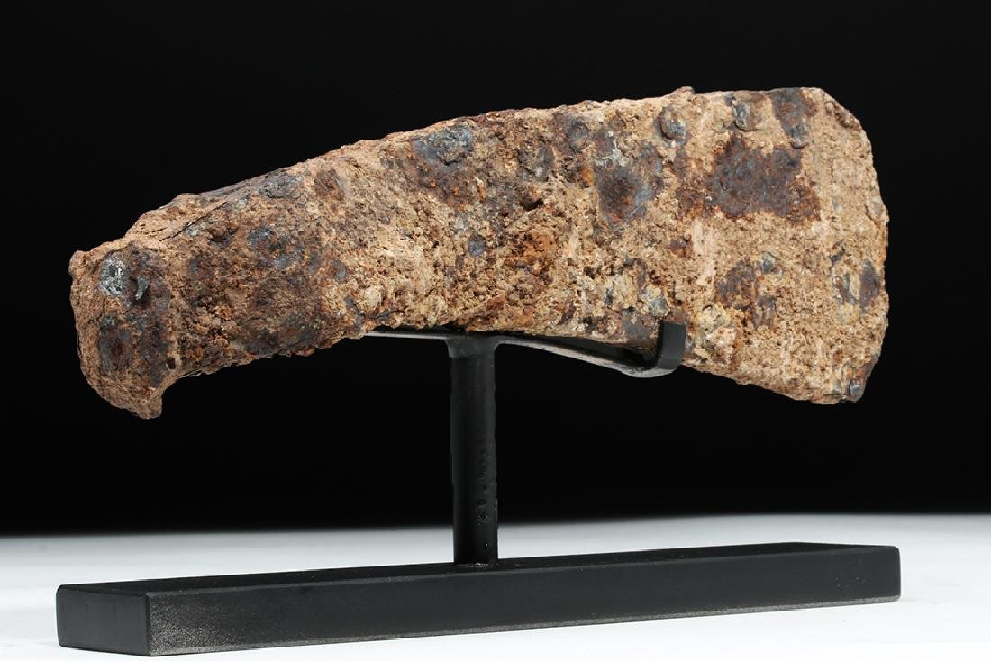 Heavy Viking / Norse Iron Axe Head - 3